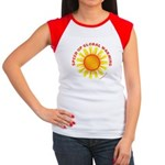 Speed Up Global Warming Women's Cap Sleeve T-Shirt