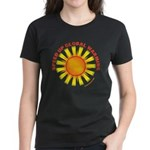 Speed Up Global Warming Women's Dark T-Shirt