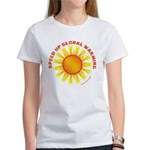 Speed Up Global Warming Women's T-Shirt