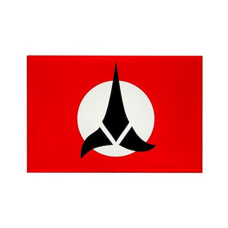 Klingon Flag Rectangle Magnet