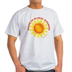 Speed Up Global Warming Light T-Shirt