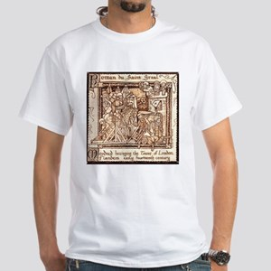 Arthurian Legend White T-Shirt