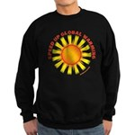 Speed Up Global Warming Sweatshirt (dark)
