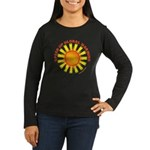 Speed Up Global Warming Women's Long Sleeve Dark T
