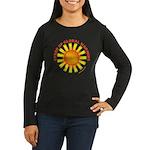 Speed Up Global Warming Women's Long Sleeve Dark T