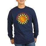 Speed Up Global Warming Long Sleeve Dark T-Shirt