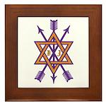 Masonic OSM Tile Coaster Framed Tile