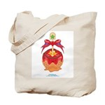 Kawaii Red Candy Apple Tote Bag