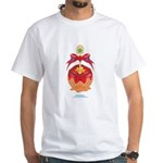 Kawaii Red Candy Apple White T-Shirt