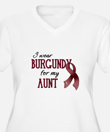 Wear Burgundy - Aunt T-Shirt
