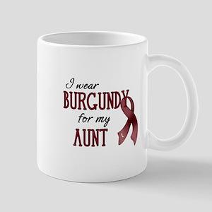 Wear Burgundy - Aunt Mug