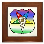 OES Shield Framed Tile