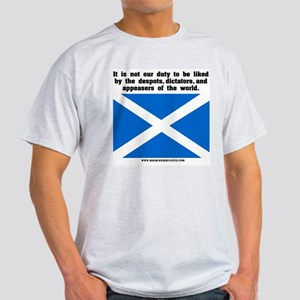 Not Our Duty Scotland Ash Grey T-Shirt