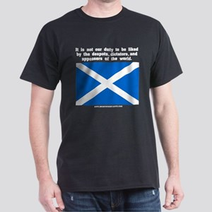 Not Our Duty Scotland Black T-Shirt