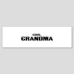 Cool Grandma Bumper Sticker