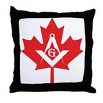 Canadian Mason Throw Pillow