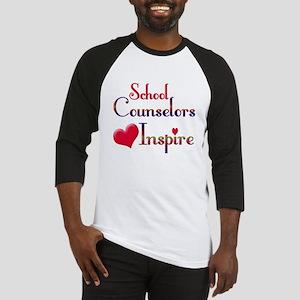 Teachers Inspire counselors Baseball Jersey