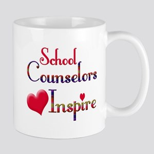 Teachers Inspire counselors Mugs