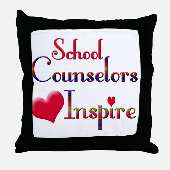 Funny Counselor Throw Pillow