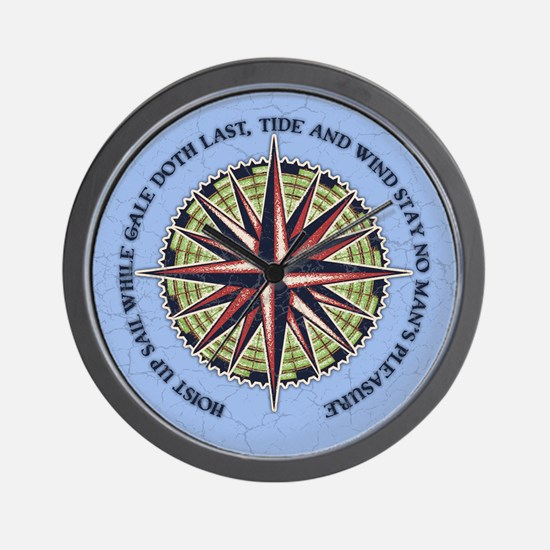 Tide and Wind Wall Clock