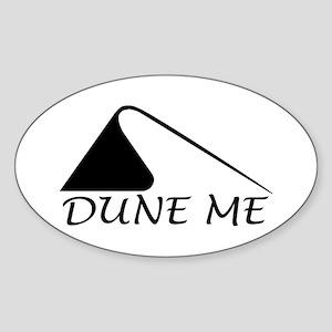 Dune Me Sticker (Oval)