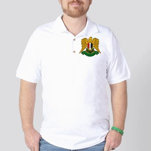 Syrian Coat of Arms Golf Shirt