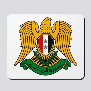 Syrian Coat of Arms Mousepad