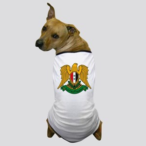 Syrian Coat of Arms Dog T-Shirt
