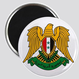 """Syrian Coat of Arms 2.25"""" Magnet (10 pack)"""