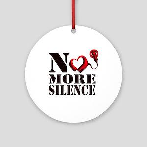 No More Silence Ornament