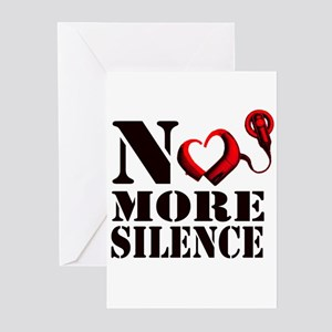 No More Silence Greeting Cards (Pk of 20)