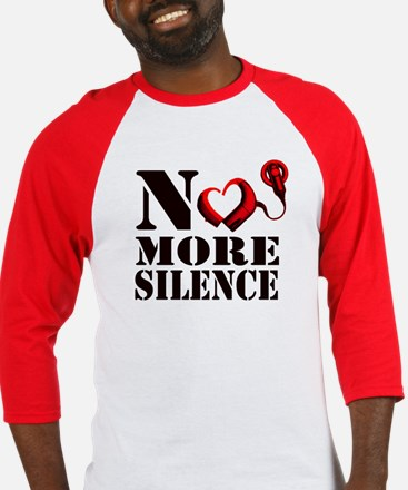 No More Silence Baseball Jersey