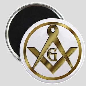 "Masonic Circle 2.25"" Magnet"
