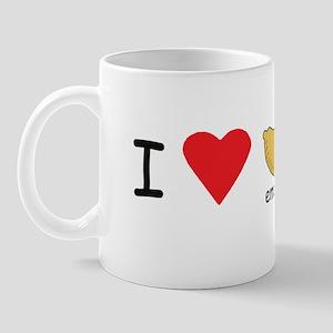 I love empanadas! Mug