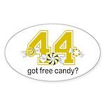 Got Free Candy Sticker (Oval)