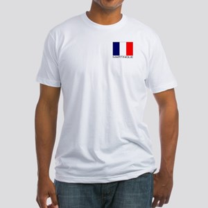 """""""Martinique Flag"""" Fitted T-Shirt"""