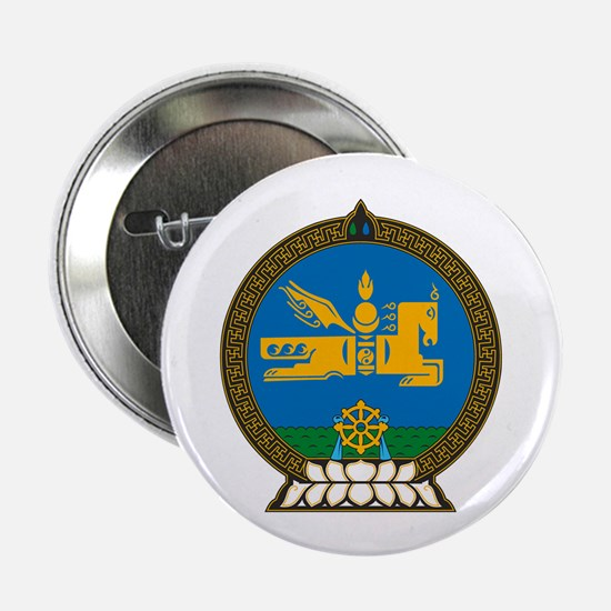 """Mongolian Coat of Arms 2.25"""" Button (10 pack)"""