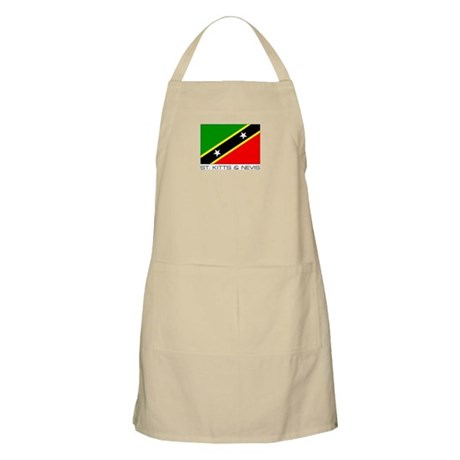 """St Kitts & Nevis"" BBQ Apron"