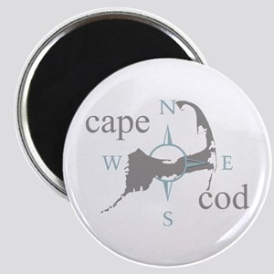 Cape Cod Compass Magnet