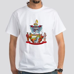 Nepal Coat of Arms White T-Shirt