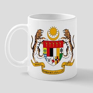 Malaysia Coat of Arms Mug