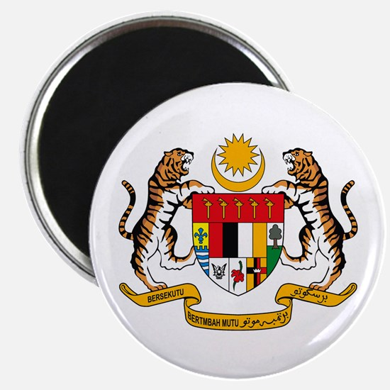 """Malaysia Coat of Arms 2.25"""" Magnet (10 pack)"""