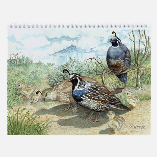 Watercolor Art Wall Calendar