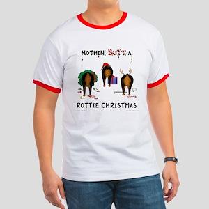 Rottweiler Christmas Ringer T