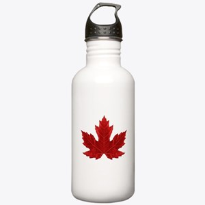 Canadian Maple Leaf Stainless Water Bottle 1.0L