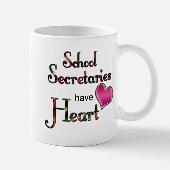 Teachers Have Heart school secretary Mugs