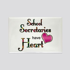 Teachers Have Heart school secretary Magnets