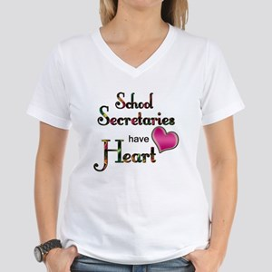 Teachers Have Heart school secretary T-Shirt