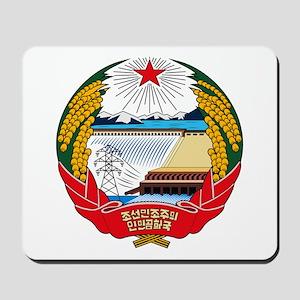 North Korean Coat of Arms Mousepad