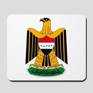 Iraq Coat of Arms Mousepad